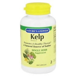 Natures Answer Kelp thallus for thyroid function capsules - 100 ea