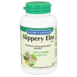 Natures Answer Slippery elm bark vegetarian capsules - 90 ea