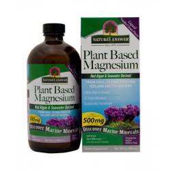 Nature's answer plant based liquid magnesium vanilla cream - 16 oz