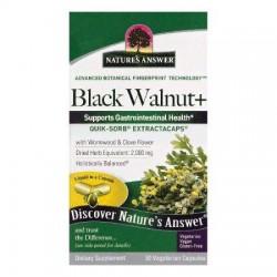 Natures Black walnut+ vegetarian capsules - 90 ea