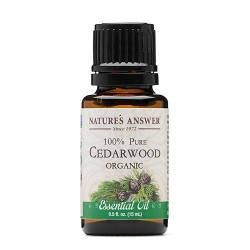 Nature's Answer pure Cedarwood organic essential oil - 0.5 oz