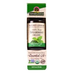 Nature's Answer pure organic blend essential oil, spearmint - 0.5 oz