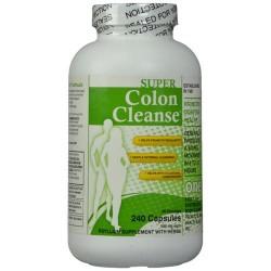 Super Colon Cleanse Health Plus Supplements - 120 ea