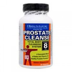 Super prostate cleanse herbal supplement with vitamins capsules - 90 ea