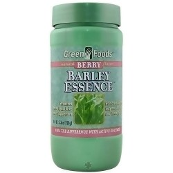 Green Foods Barely Essence, Berry Flavor - 5.3 Oz