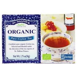 St. Dalfour - deluxe premium organic tea pure ceylon - 25 tea bags