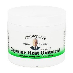 Dr. Christophers Cayenne deep heat ointment, 4 oz