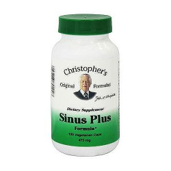 Dr. Christophers Sinus Plus 475 mg capsules, 100 ea