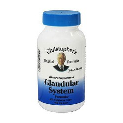 Dr. Christopher Glandular system 440 mg capsules - 100 ea