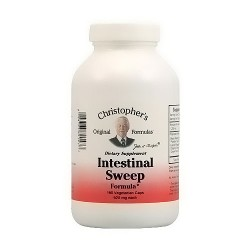 Dr. Christophers Formulas Intestinal Sweep Vegetarian Capsules, 180 ea