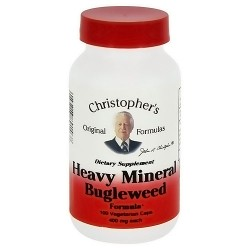 Christophers Heavy Mineral Bugleweed 425 Mg - 100 Veg Capsules