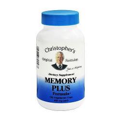 Dr. Christopher Memory plus 450 mg capsules, 100 ea