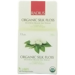 Radius Organic Silk Floss, Biodegradable - 33 yards