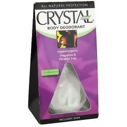 Crystal body rock deodorant - 5 oz
