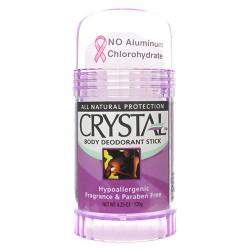 Crystal fragrance free deodorant body stick - 4.25 oz