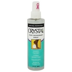 Crystal Body Deodorant Foot Deodorant Spray By French Transit, 8 oz