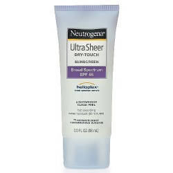 Neutrogena Ultra Sheer Dry-Touch Sunblock, SPF 55 - 3 OZ, 3 pack