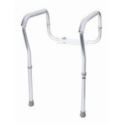 Carex health brands  toilet safety frame - 1 ea
