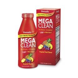 Detoxify mega clean herbal cleanse, Tropical flavour - 32 oz