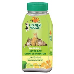 Citrus magic litter box odor eliminator shaker - 11.Oz