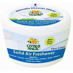 Citrus magic solid air freshener pure linen - 20 oz