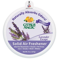 Citrus magic solid air freshener, lavender escape - 8 oz,6 pack