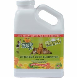 Citrus magic pet litter box odor eliminator, fresh citrus - 40 oz