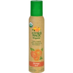 Citrus magic organic odor eliminating air freshener, orange zest - 3.5 Oz
