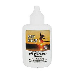 Body Rescue Alkaline Booster PH Protector Drops - 1.25 oz