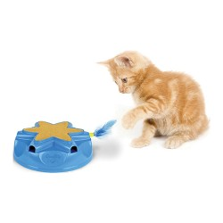 Ourpets Company catty whack electronic sound & action toy - 4 ea