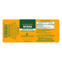 Herb pharm  myrrh extract - 1 oz
