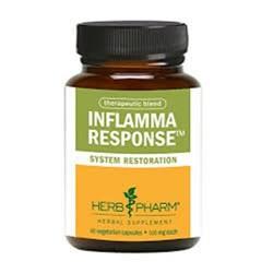 Herb pharm inflamma response  500 mg vegetarian capsules   -  60 ea