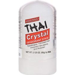 Thai deodorant stone in velvet pouch - 5.5 oz