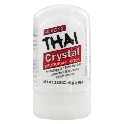 Thai deodorant stone - thai natural crystal deodorant push-up stick - 2 oz