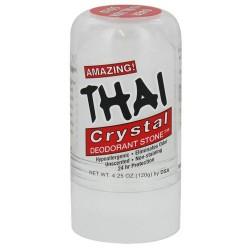 Thai deodorant stone thai natural crystal, deodorant stick - 4.25 oz