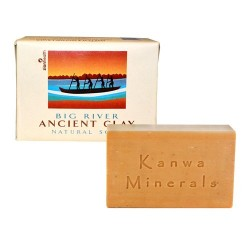 Zion health organic ancient clay soap big river - 10.5 oz