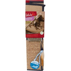 Worldwise Inc scratch & play mat cat scratcher - 24 ea