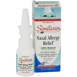 Similasan nasal allergy relief spray, preservative free - 20 ml