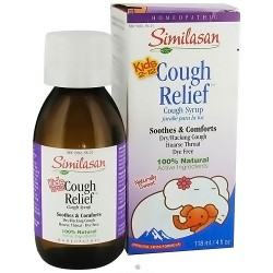Similasan kids cough relief cough syrup, cough expectorant - 118 ml