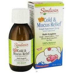 Similasan cold and mucus relief cough expectorant syrup for Kids 2-12 - 4 oz