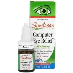 Similasan Healthy Relief Eye Drops, #3 For Eye Fatigue - 0.33 Fl Oz (10 Ml)