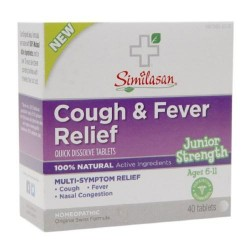 Similasan junior strength cold and mucus relief quick dissolve tablets 40 tab - 1 ea
