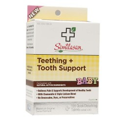 Similasan Teething + Tooth Support Quick Dissolving Tablets - 135 ea