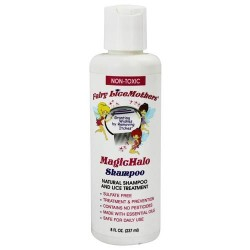 Fairy licemother - magichalo natural shampoo and lice treatment - 8 oz
