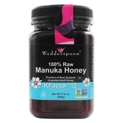 Wedderspoon Organic - Manuka Honey Unpasteurized Active 12+ - 17.6 oz