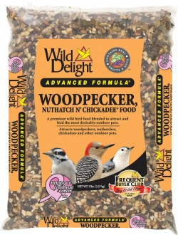 D&D Commodities Ltd. wild delight woodpecker, nuthatch n chickadee food - 5 pound, 6 ea