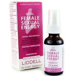 Liddell Vital female Sexual Energy homeopathic spray - 1 oz