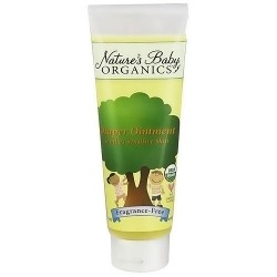 Nature's Baby Organics Diaper Ointment, Fragrance Free - 3 oz