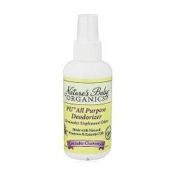 Nature's Baby organics diaper PU all purpose deoderizer, Lavender Chamomile, 4 oz