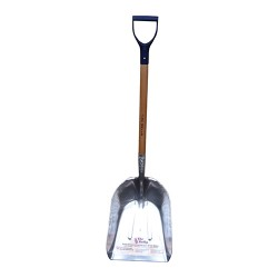 Bull Gater Ltd bully scoop wearstrip shovel w/ d handle grip - 40 inch, 6 ea